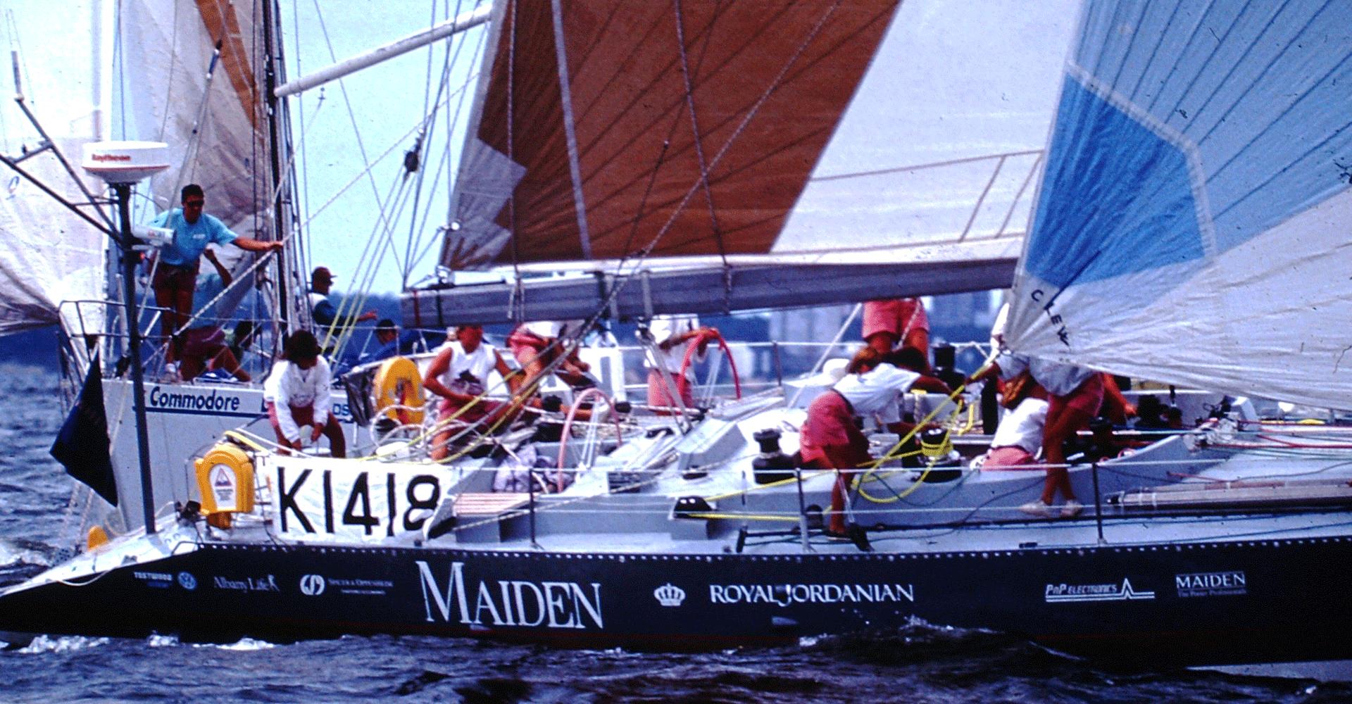 Maiden Sailing